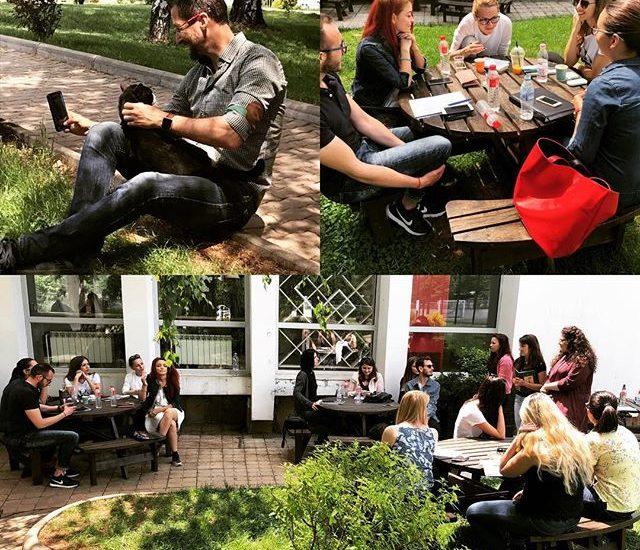 Учебна сбирка на студентите на Георги Малчев в НБУ