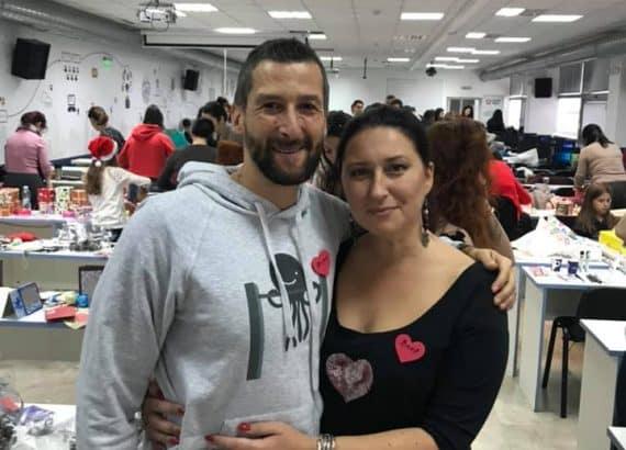 Георги Малчев и Ваня Ананиева на инициативата Предай нататък